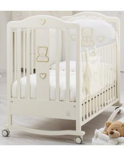 Детская кроватка Italbaby Amore (крем)