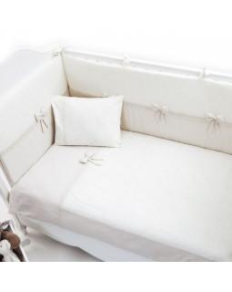 Постельное бельё Fiorellino Premium Baby Cream 140x70