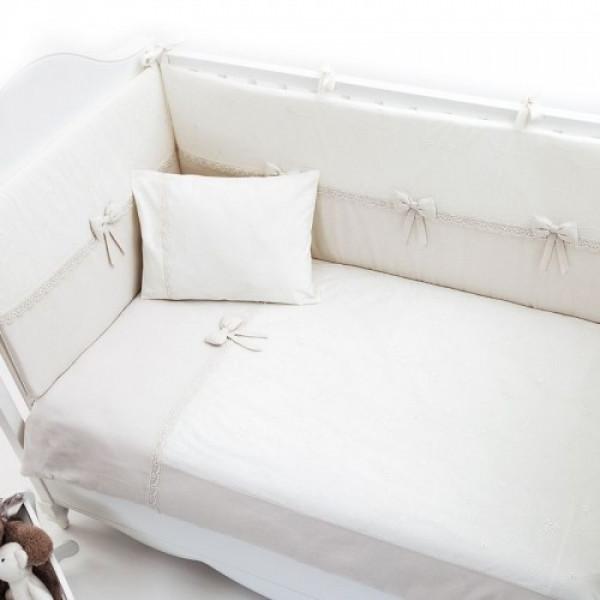 бельё Fiorellino Premium Baby Cream в кроватку 140x70