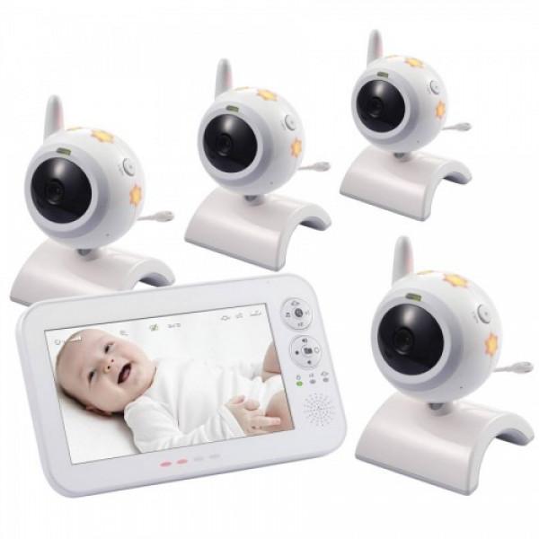 Switel BCF 930 Quadro видеоняня с 4 камерами в комплекте