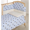 Детское постельное белье Italbaby Teddy (Голубой)