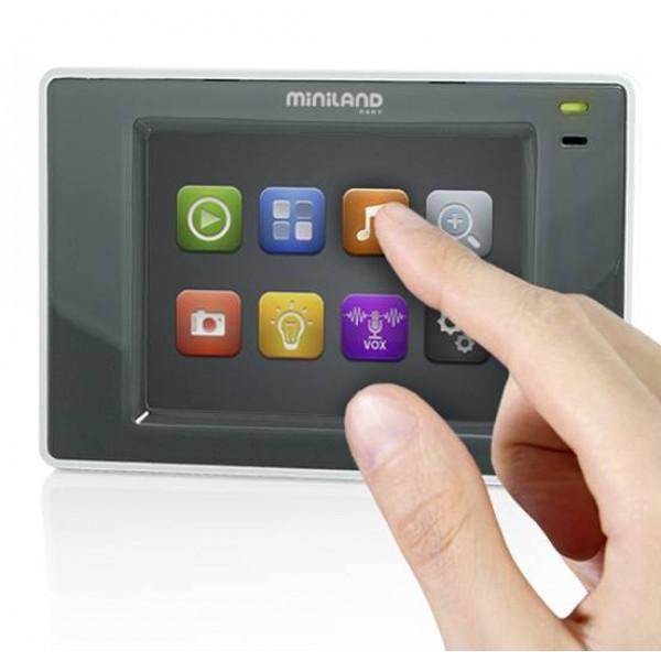 видеоняня с 3 камерами Miniland Digimonitor 3.5 Touch