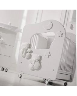 Baby Expert Dieci Lune детская кроватка с качалкой