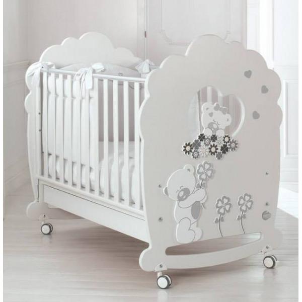 Baby Expert Serenata детская кроватка с качалкой