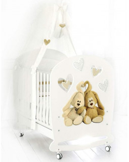 Детская кроватка Baby Expert Cremino Lux (Белый)