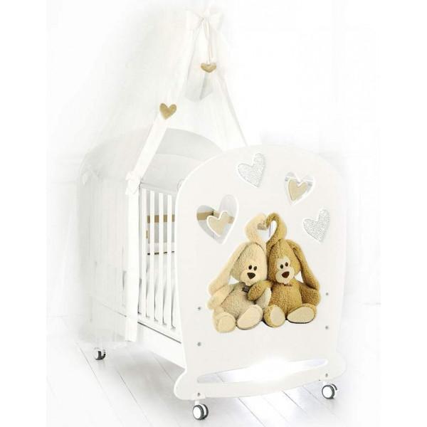 Baby Expert Cremino Lux детская кроватка (Белый)