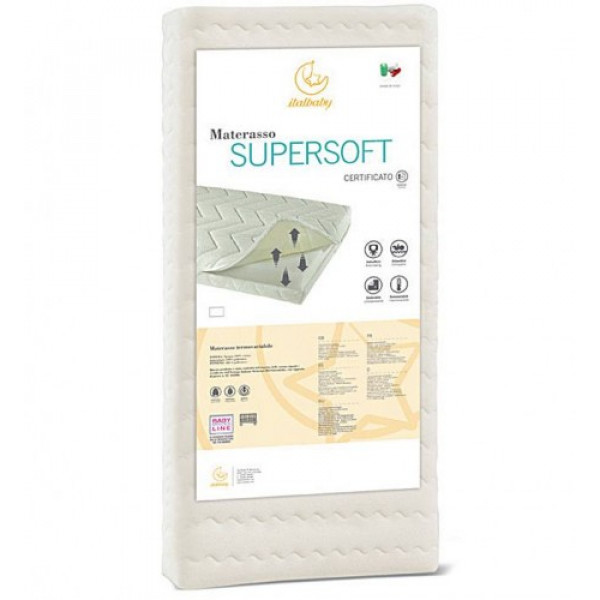 Матрас Italbaby SuperSoft 125x63