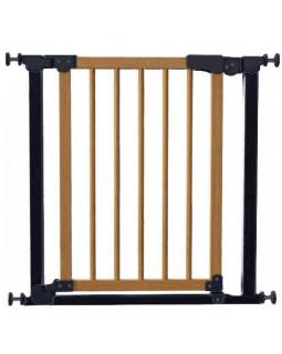 Ворота калитка Safe&Care (черный-сосна)