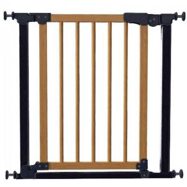 ворота Safe and Care черный-сосна