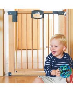 Geuther ворота безопасности деревянные Easylock Natur 2746