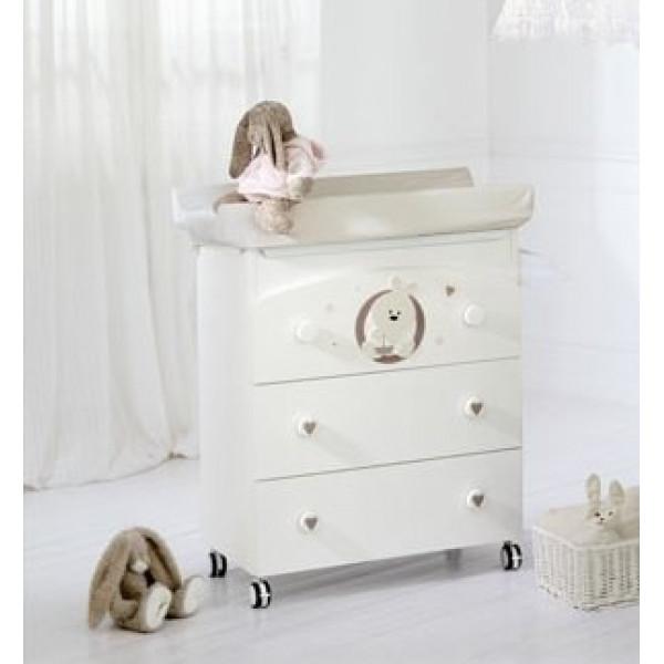 комод Baby Expert Trottolino пеленальный