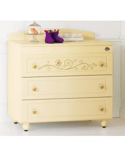 комод бельевой Baby Expert Ceramics Perla Gold