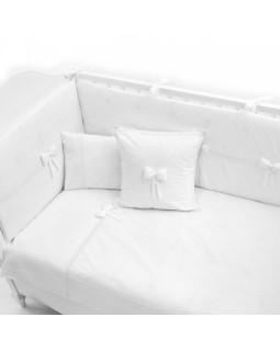 Постельное бельё Fiorellino Premium Baby White 125x65