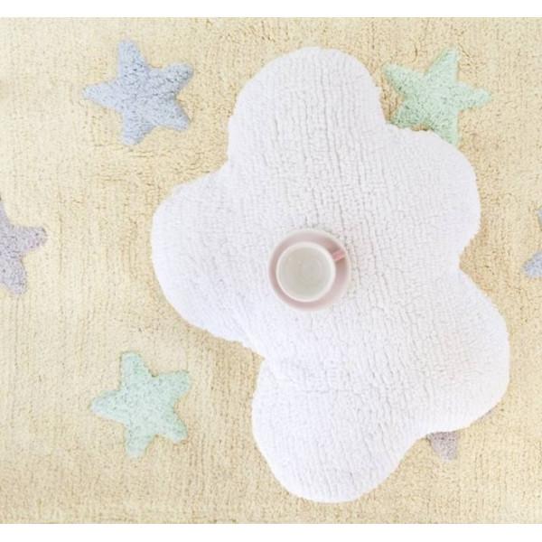 ковер Lorena Canals Stars Tricolor (ванильный)