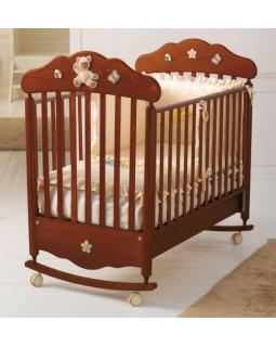 Baby Expert Ceramics Bijoux детская кроватка (орех)