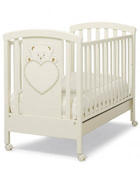 Erbesi Lulu детская кроватка (слоновая кость)