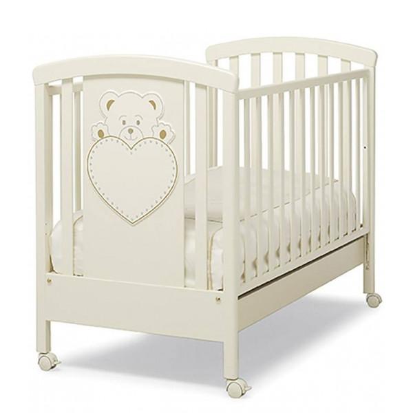 кроватка Erbesi Lulu (цвет Слоновая кость)