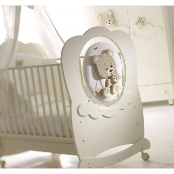 кроватка Baby Expert Abbracci by Trudi крем
