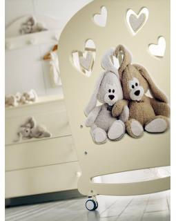 детская кроватка Baby Expert Cremino (Крем)
