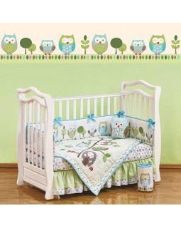 Giovanni Shapito Summer Owls комплект белья в кроватку  60х120