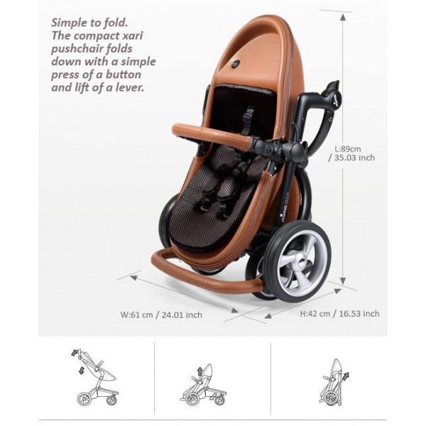 Mima Xari 4G коляска 2 в 1