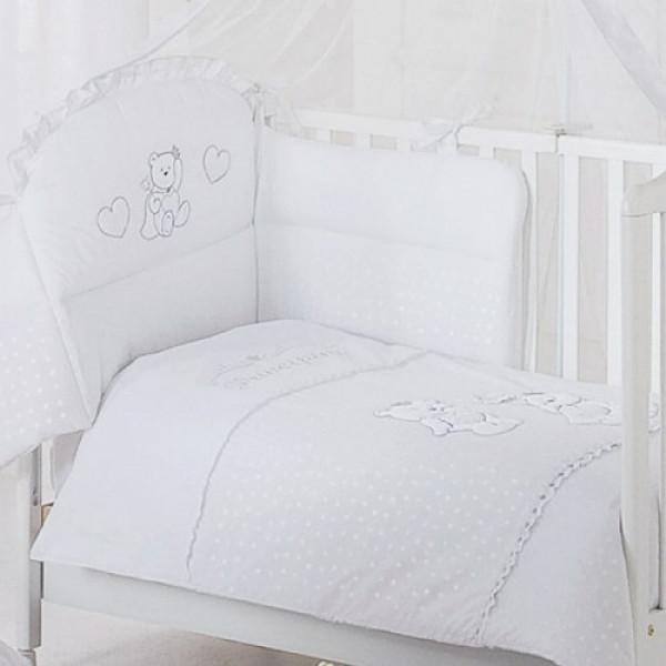 постельное белье Italbaby Principini (белое)