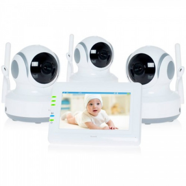 Видеоняня с 3 камерами Ramili Baby RV900X3