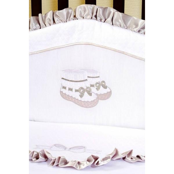 Комплект белья в кроватку Giovanni Silver 60х120 (4 предмета)