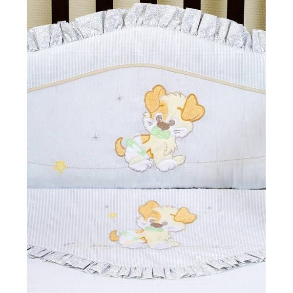 Комплект белья в кроватку Giovanni Puppy 60х120 (4 предмета)