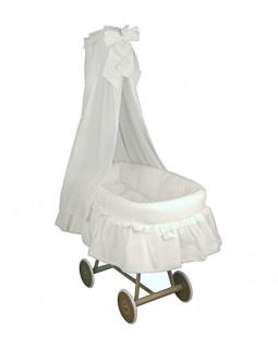Плетеная колыбель Italbaby Amore с балдахином