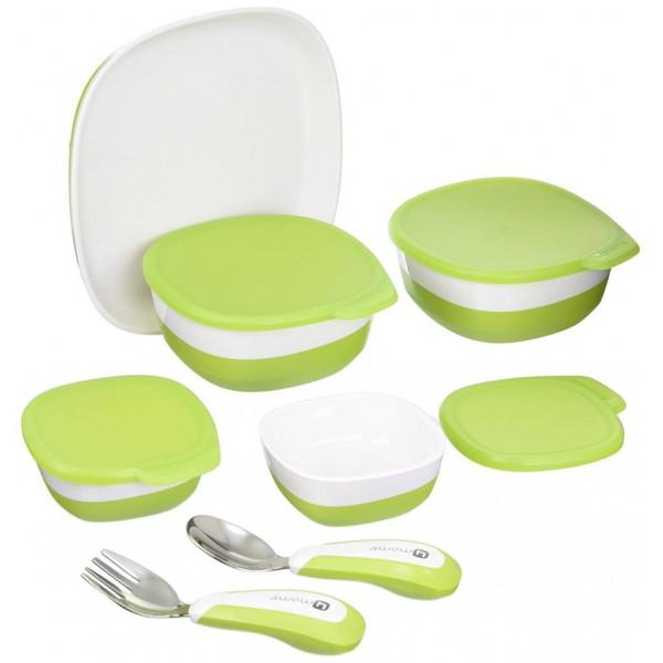 Набор посуды для стульчика 4moms