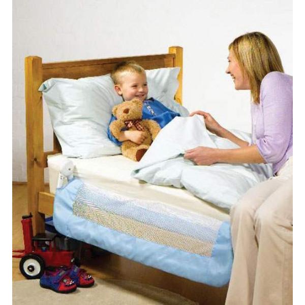 Бортик для кроватки Tomy голубой
