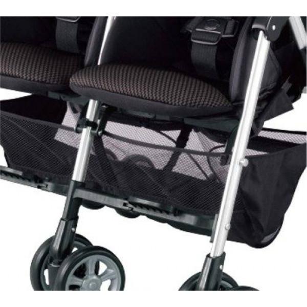 коляска для двойни Combi Spazio Duo