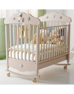 Baby Expert Ceramics Bijoux детская кроватка с качалкой