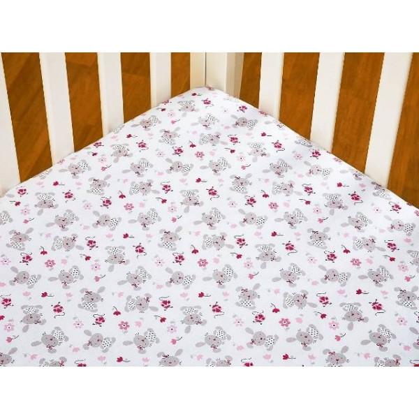 Комплект белья в кроватку Giovanni Shapito Bonny Bunny 60х120 (7 предметов)