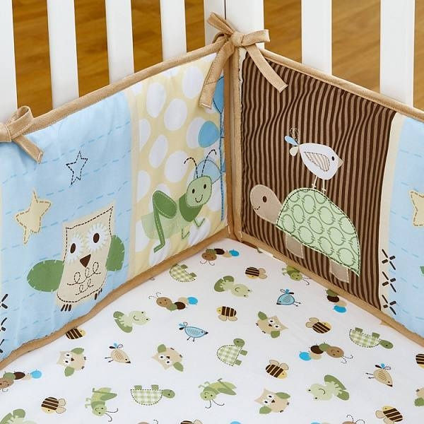 Комплект белья в кроватку Giovanni Shapito Froggy Friends 60х120 (7 предметов)