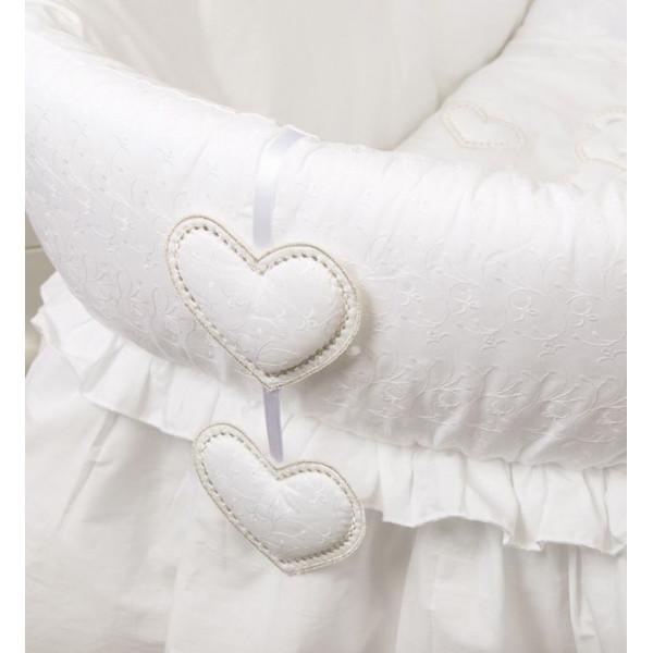 колыбель Italbaby Amore плетеная