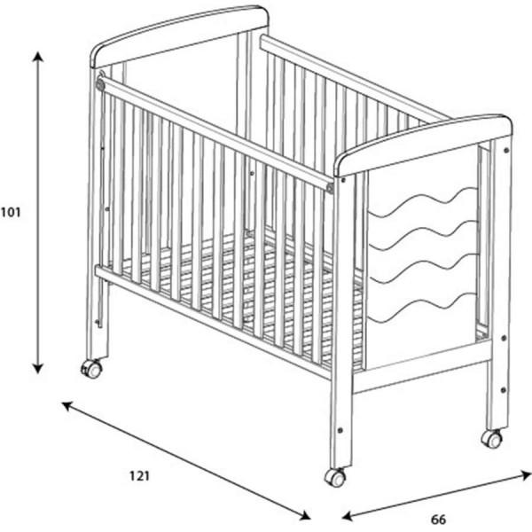 детская кроватка Micuna Infinity