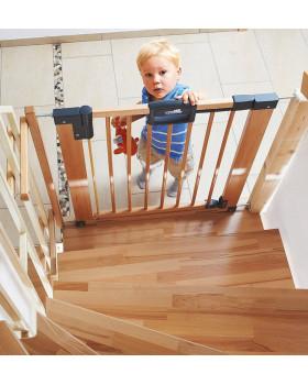 Geuther Easylock Natural 2747 ворота на лестницу от детей
