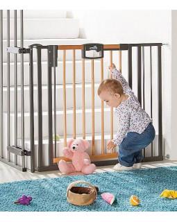 Geuther Easylock Wood 2793 ворота детские на лестницу